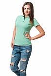 Женская футболка поло хорошего качества, фото 2