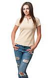 Женская футболка поло хорошего качества, фото 3