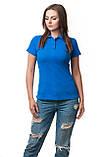 Женская футболка поло хорошего качества, фото 4