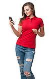 Женская футболка поло хорошего качества, фото 5