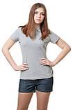 Женская футболка поло хорошего качества, фото 6