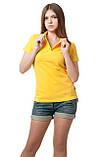Женская футболка поло хорошего качества, фото 8