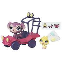 Игровой набор Hasbro Littlest Pet Shop Путешествие по городу (B7757)