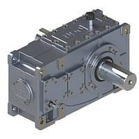 Индустриальный коническо-цилиндрический редуктор