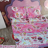 """Комплект постельного белья Тиротекс бязь """"Лол розовые """", фото 1"""