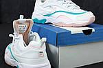 Женские кроссовки Fila Ray (бело-бирюзовые), фото 5