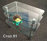 Стол стеклянный 01