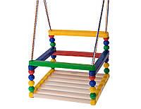 Качеля деревянная для ребенка