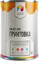 Грунтовка ГФ-021 «Lida» (Білорусь) Від упаковки