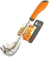 Ложка для спагетти Fissman Vita 32см из нержавеющей стали