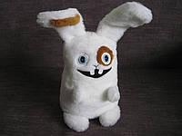 Мягкая игрушка заяц Мегабайт из рекламы life:) лайф ручная работа