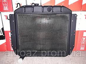 Радиатор охлаждения ЗИЛ 130 4 ряд медный пр-во Иран