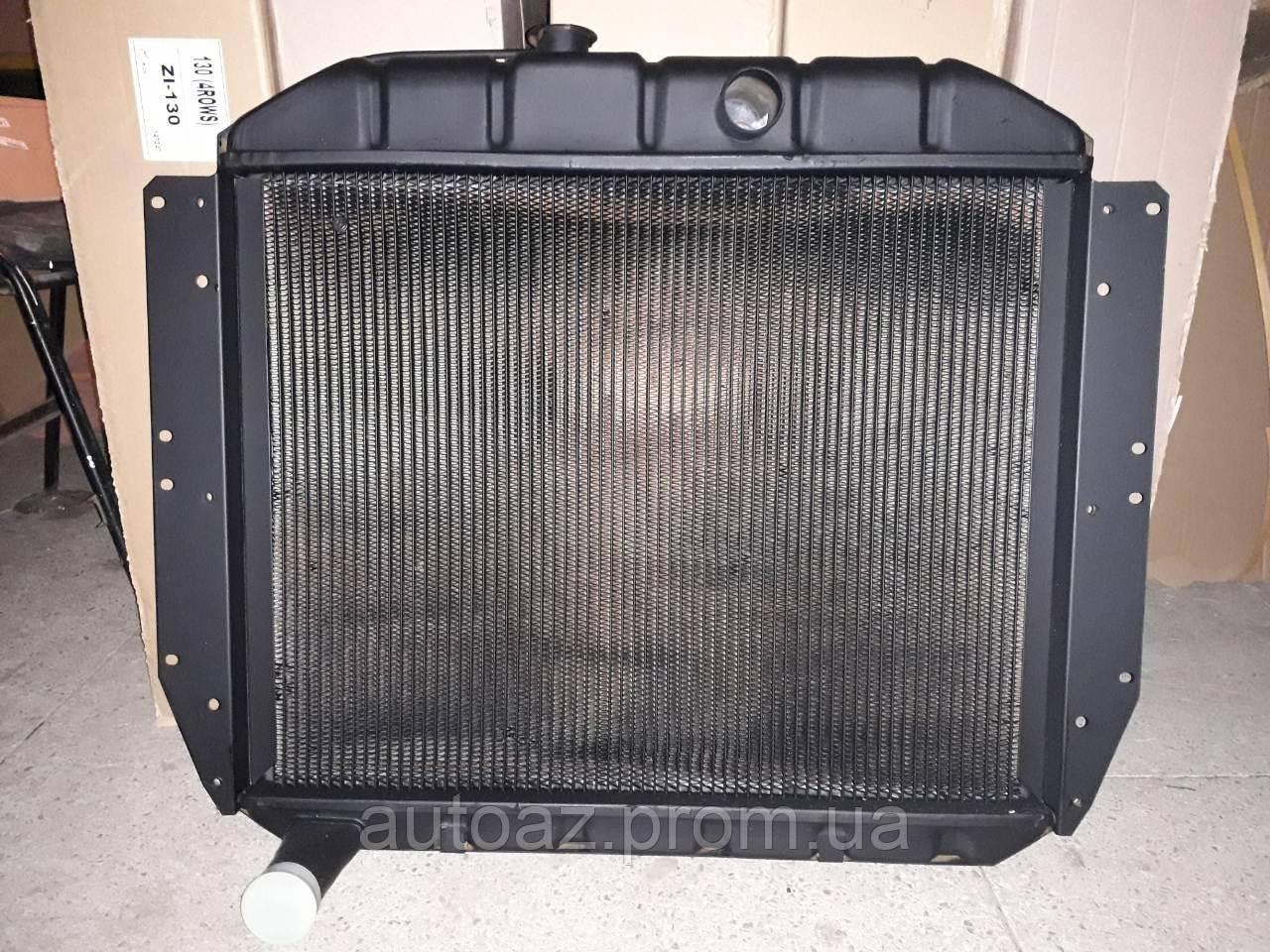 Радиатор охлаждения ЗИЛ 130 3 рядный медный пр-во Иран