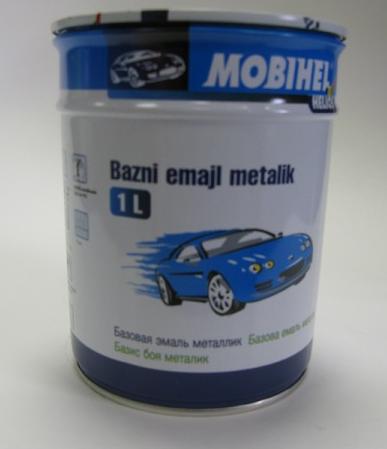 Авто краска (автоэмаль) металлик Mobihel (Мобихел) 690 Снежная Королева, 1л