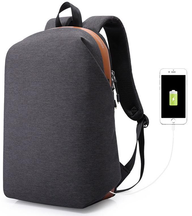 Городской рюкзак для ноутбука Kaka 17007 в стиле минимализм, 23л