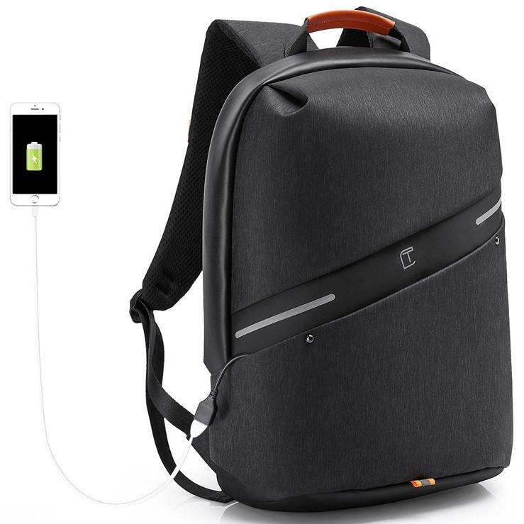 Городской рюкзак-антивор Tangcool TC717, с отделением для ноутбука, 26л