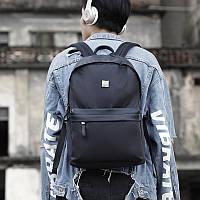 Современный легкий рюкзак Arctic Hunter B00291, 15л Черный/ромбы
