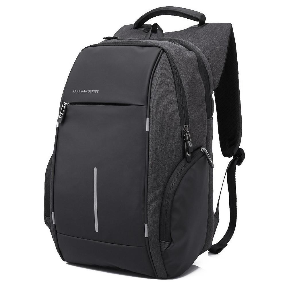 """Городской рюкзак Kaka 2215, с USB портом и отделением для ноутбука 15,6"""", 22л"""