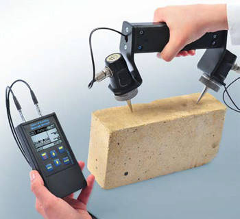 Вимірювач міцності будівельних матеріалів ультразвуковим методом ИПСМ-У, фото 2