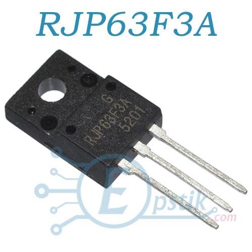 RJP63F3A, IGBT транзистор N Channel, 630V 40A, TO220FL