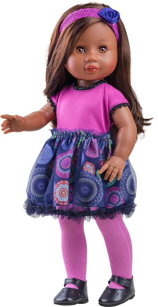 Кукла Амор мулатка 40 см, Paola Reina 06013