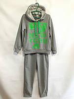 """Спортивный костюм детский для мальчика, """"New York """", 7-11 лет, серый, фото 1"""