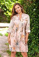 Платье, туника женская летняя из хлопка Индиано 1154, фото 1