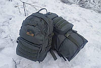 Тактический туристический крепкий рюкзак трансформер 40-60 литров афган. Нейлон 600 Den., фото 1