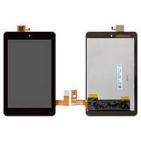 Дисплейный модуль (дисплей + сенсор) для Dell Venue 7 3730, 3740, черный, оригинал