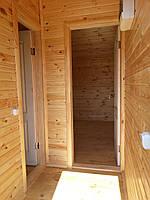 Дачный каркасный домик