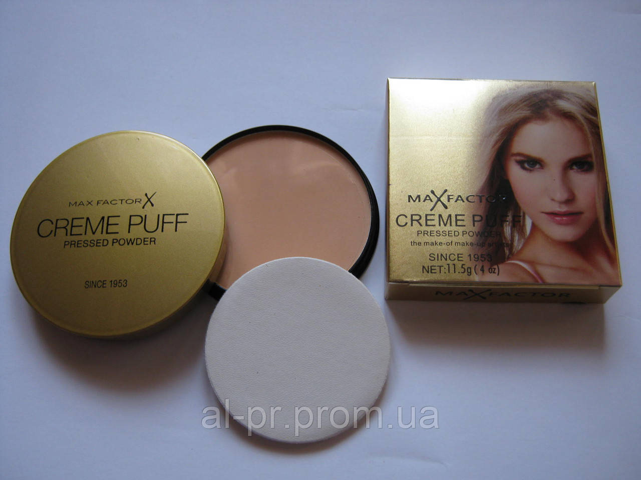 Пудра для лица Max Factor Creme Puff Powder