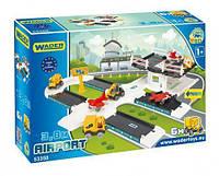 """Игровой набор """"Аэропорт с дорогой Kid Cars 3D"""" 53350 sct"""