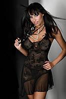 Сексуальный бэби-долл/пеньюар XXL Inez LiviaCorsetti (Ливия Корсетти) белый,черный