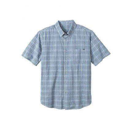Мужская рубашка Eddie Bauer Mens Classic Short-Sleeve Shirt Lt BLUE (M), фото 2