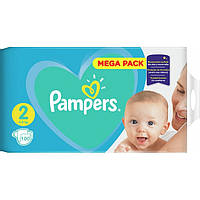 Подгузники Pampers Active Baby-Dry 2 (4-8 кг), 100шт