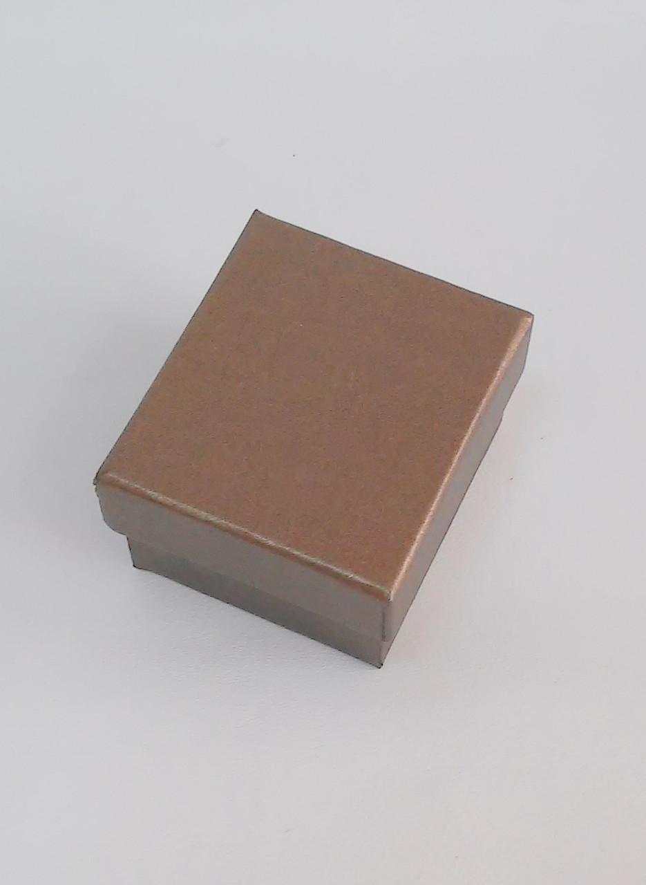 Футляр для кольца, подвески картонный RY-2/2 бронзовый