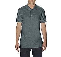 Поло серое рубашка унисекс, SoftStyle, 14 цветов, плотностью180 г/м2, Gildan, Канада 100% хлопок