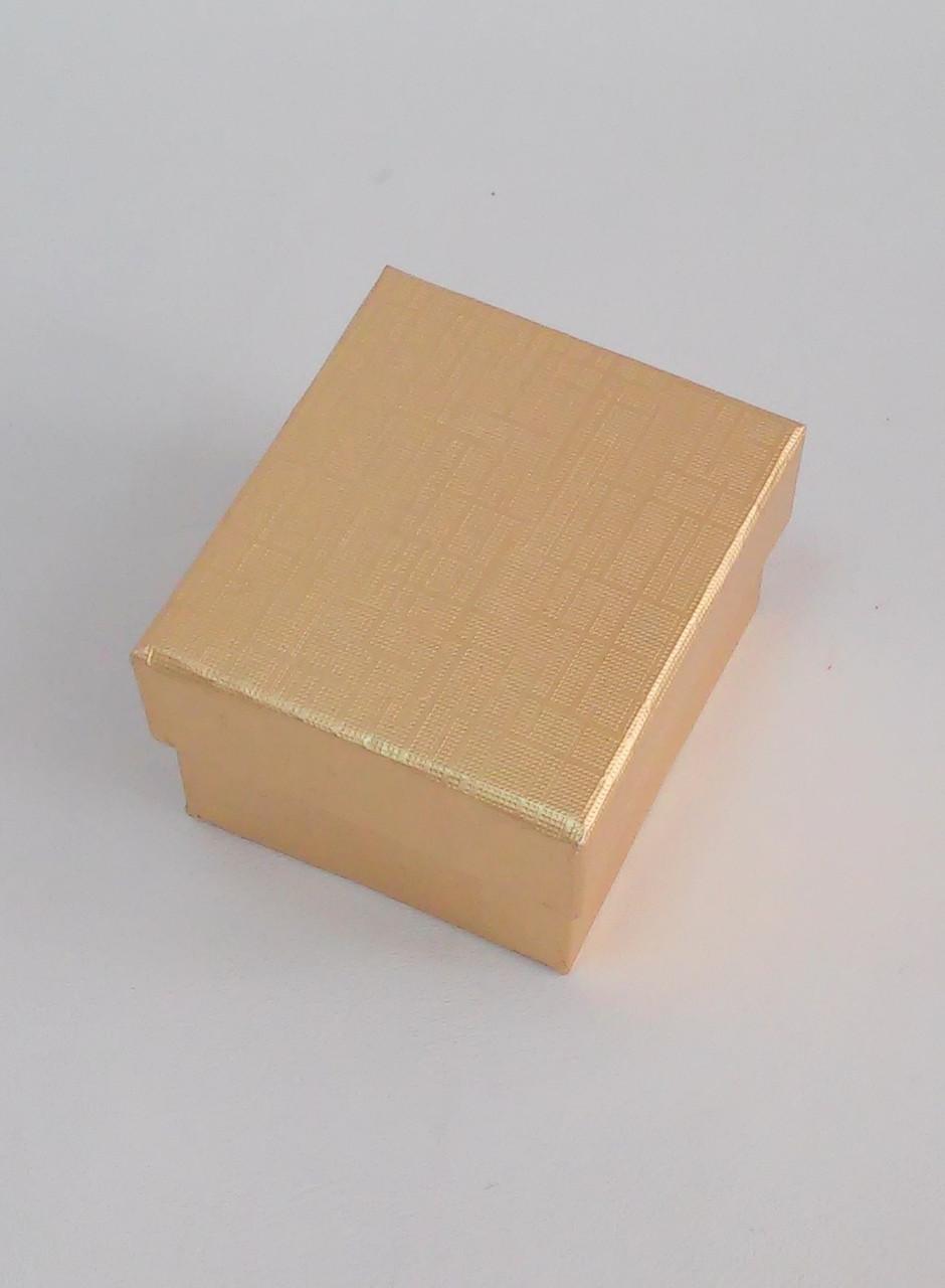 Футляр для кольца картонный RY-2/2 золотой
