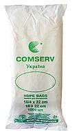 Полиэтиленовые пакеты Фасовочные Comserv 10 х 22 см - 1000 шт.