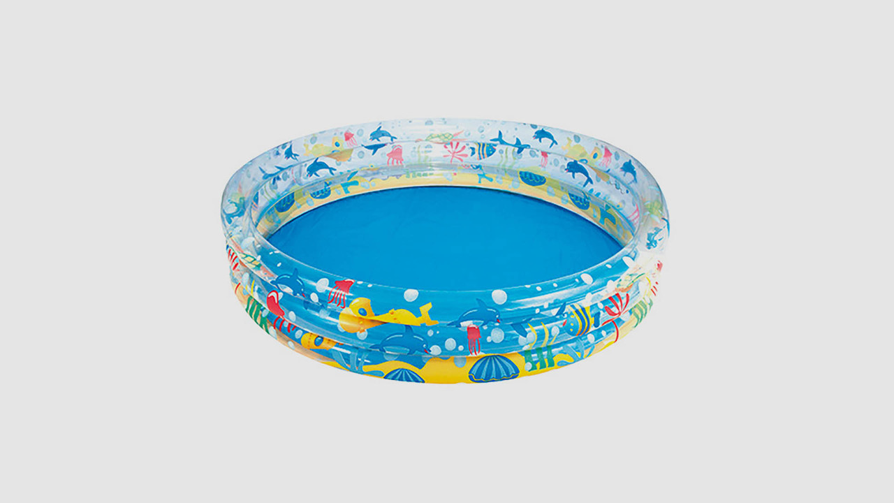 Бассейн BESTWAY для детей возрастом от 1 до 3 лет. В комплекте ремонтная заплатк
