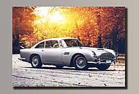 """""""Cтаринный автомобиль"""" Картина на холсте для интерьера"""