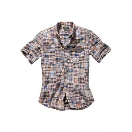 Мужская рубашка Eddie Bauer Mens Patchwork Short Sleeve Shirt MULTI, фото 2