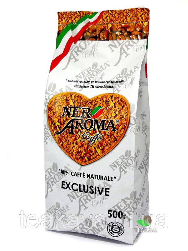 Кофе растворимый Nero Aroma Exclusive, 500 г (100% арабика)