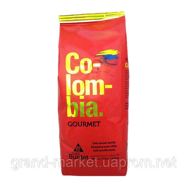 Кофе в зернах Cafe Burdet Colombia 1 kg