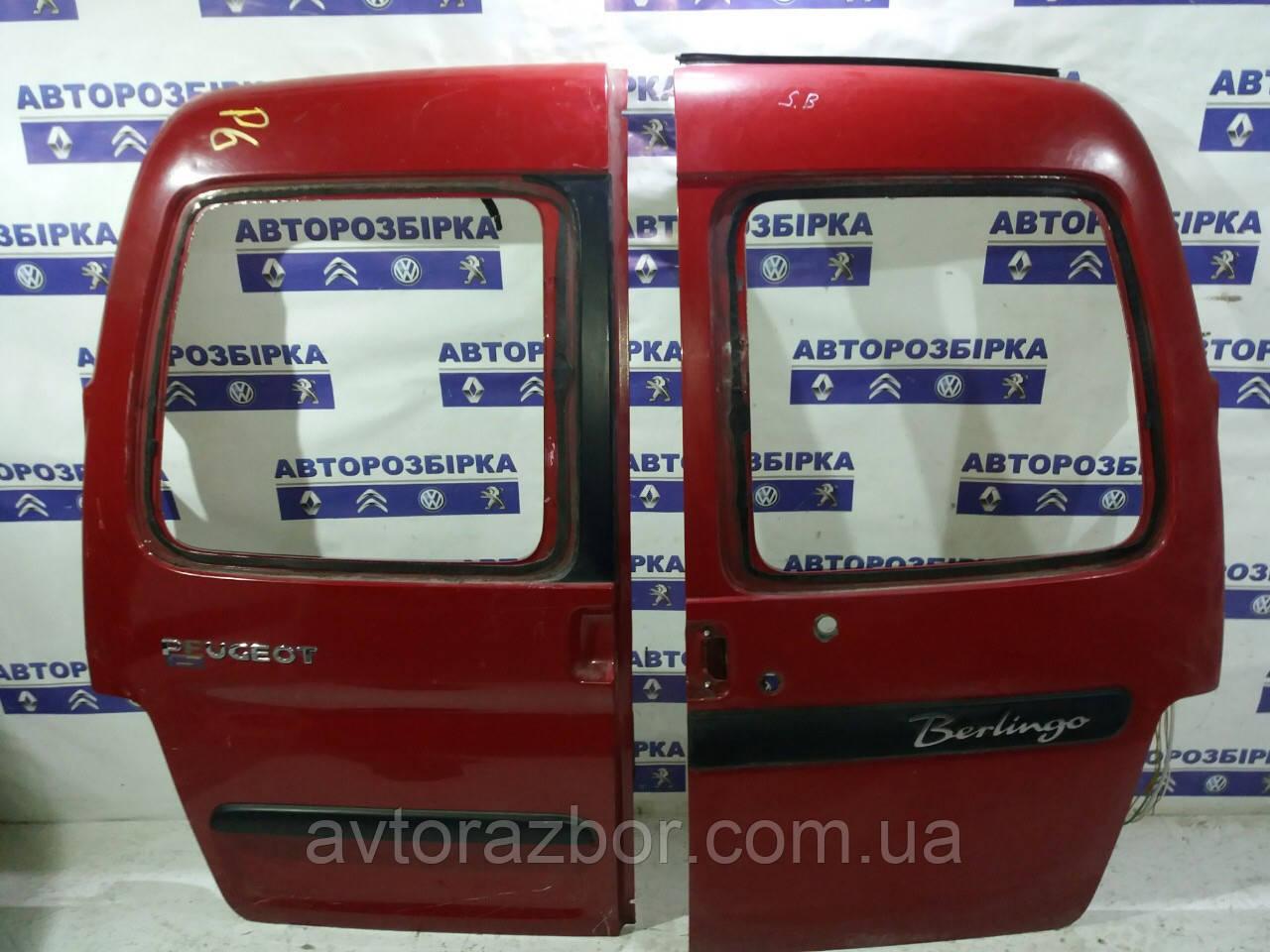 Дверь задняя левая правая ляды распашонка Citroen Berlingo 2003-2008 Ситроен Берлинго Сітроен Берлінго