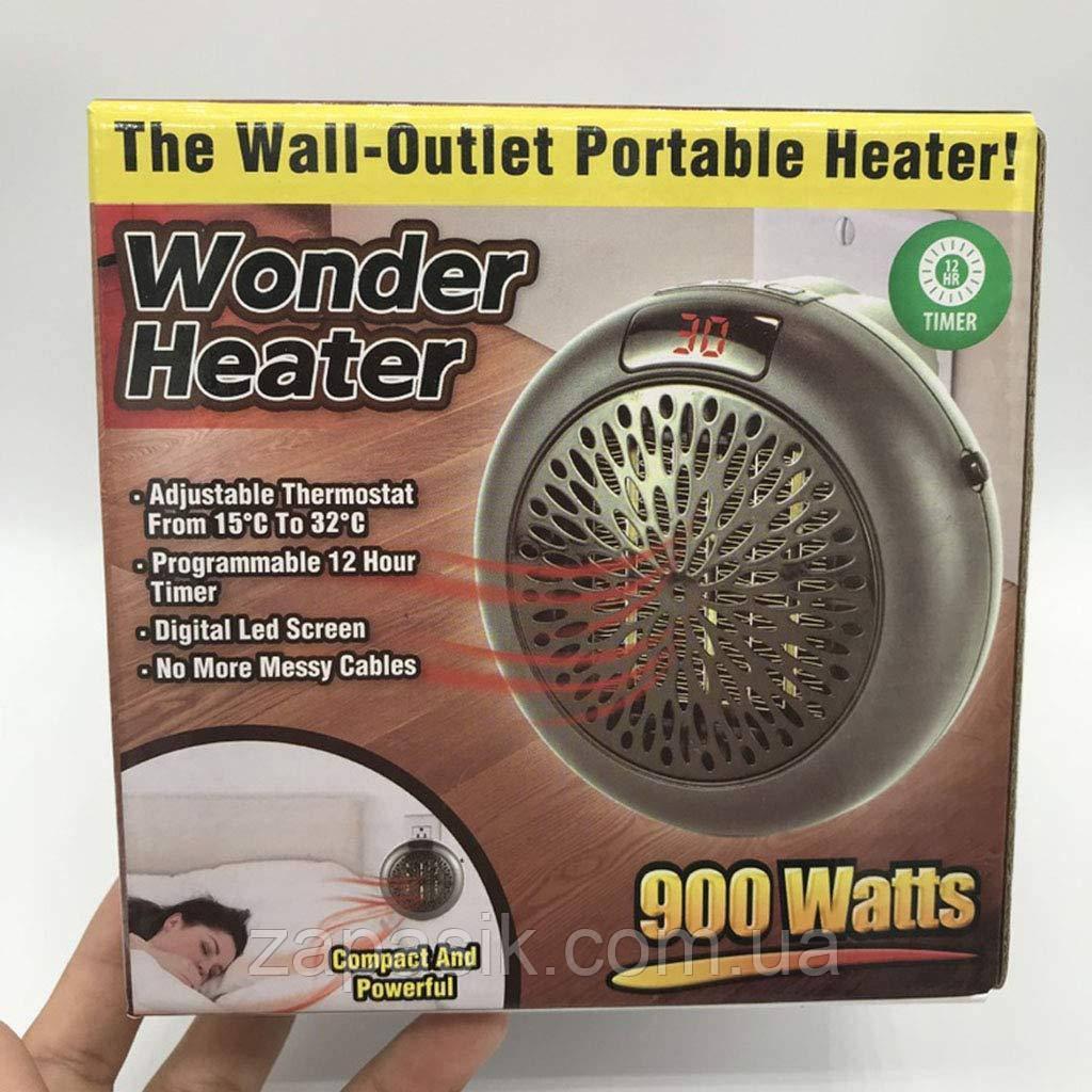 Обогреватель Портативный Дуйка Wonder Heater Pro 900W