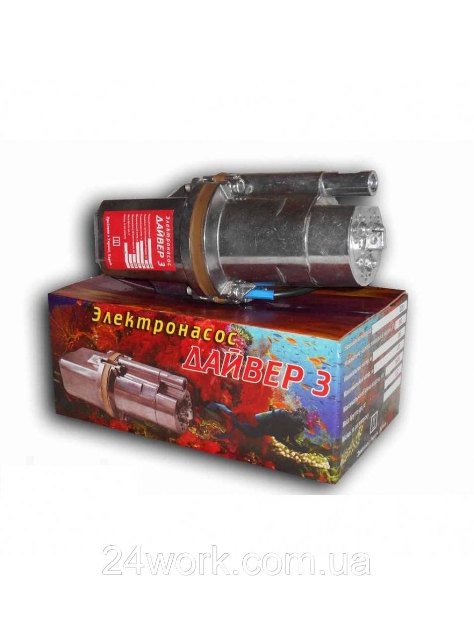 Водяной погружной вибрационный насос Дайвер 3 (3 клапана)