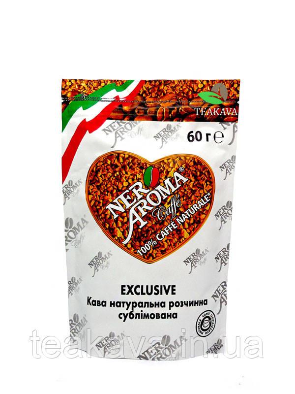 Кофе растворимый Nero Aroma Exclusive, 60 г (100% арабика)