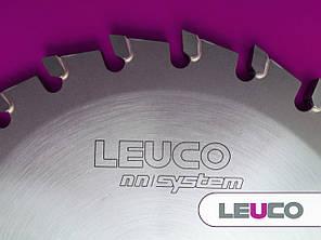 Однокорпусная подрезная дисковая пила Leuco - nn-System для форматно-раскроечных станков, 120x3,1-3,9x20, Z=24, фото 2