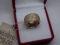 Золотое женское кольцо. Размер 16,5, фото 1